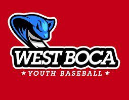 We support the West Boca Youth Baseball league